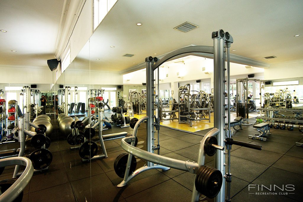 Finns Recreational Club Gym via Finns Recreational Club