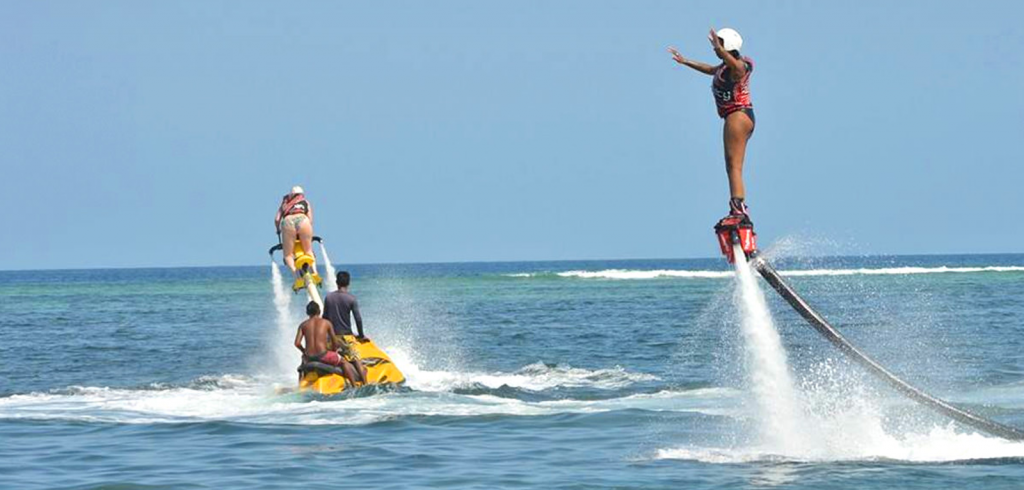Fly Boarding via Bali Apollo Water Sports