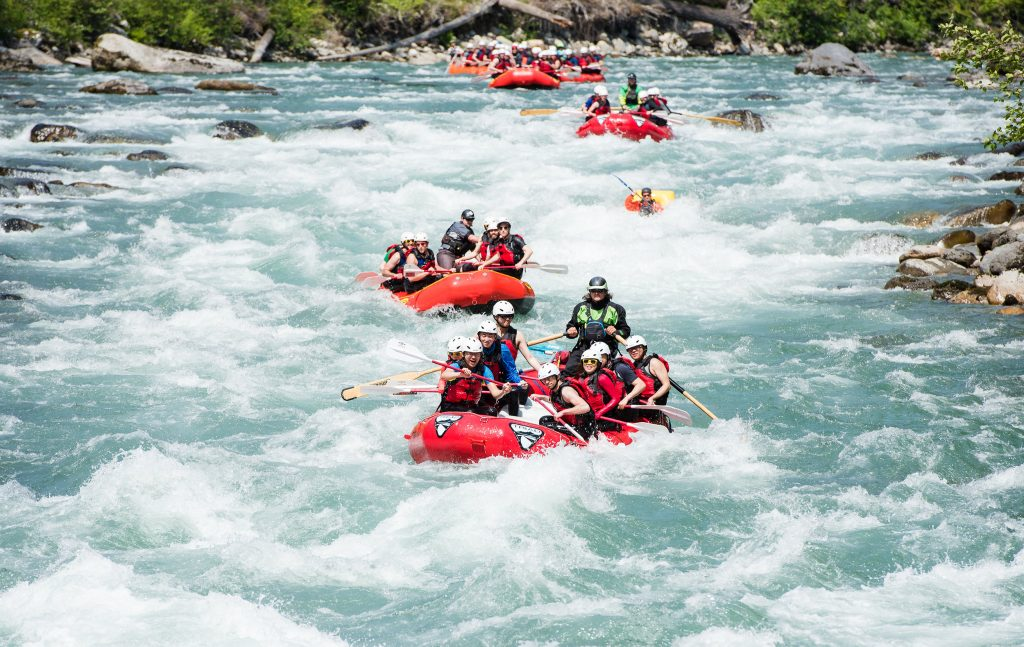 Whitewater Rafting via Triad River Tours