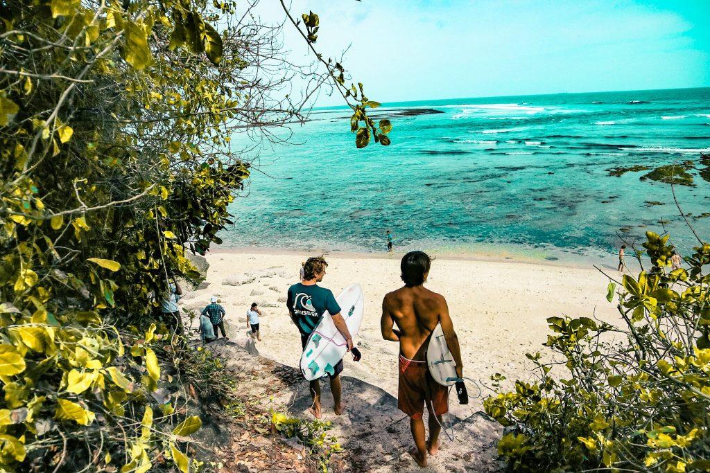 Bali via Unsplash